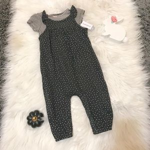 NWT CARTERS play time jumper outfit